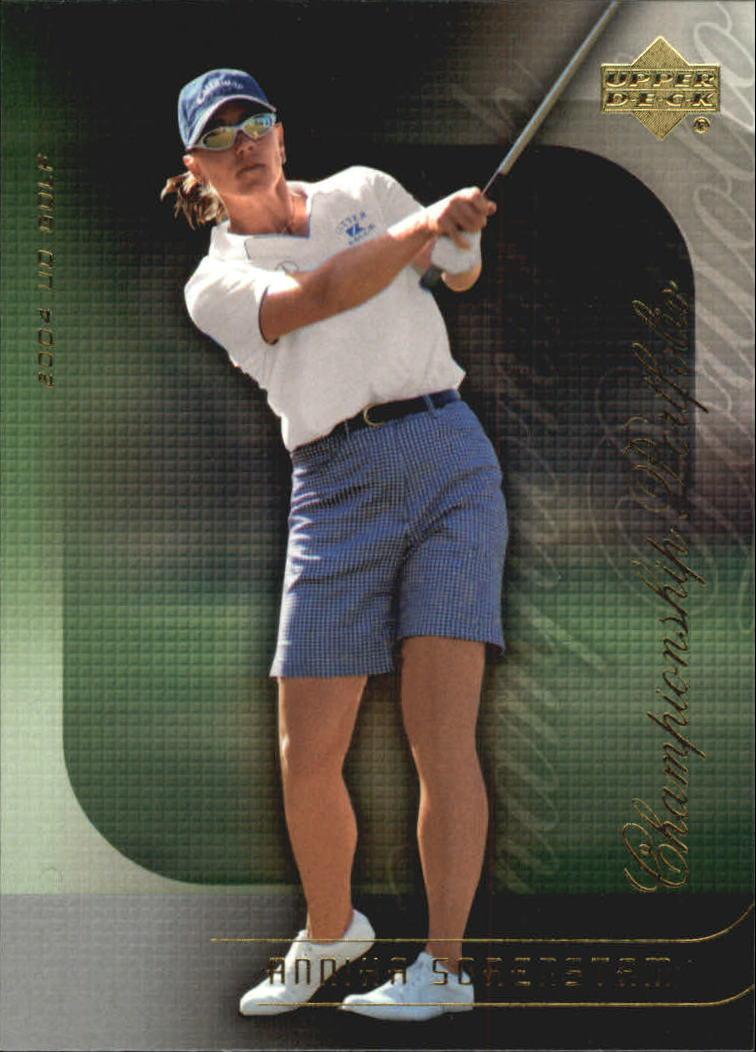 2004 Upper Deck Champion Portfolio #CP40 Annika Sorenstam