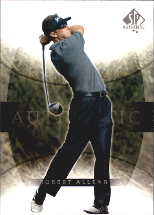 2004 SP Authentic #3 Robert Allenby