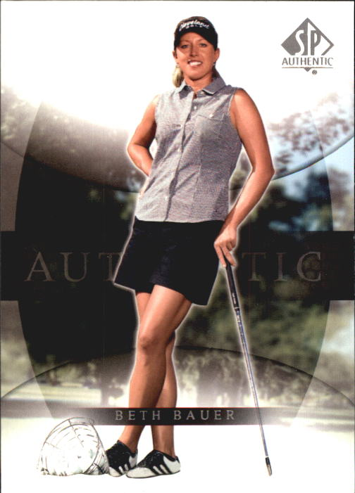 2004 SP Authentic #5 Beth Bauer