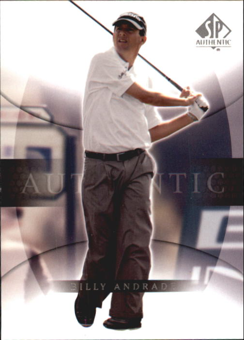 2004 SP Authentic #6 Billy Andrade