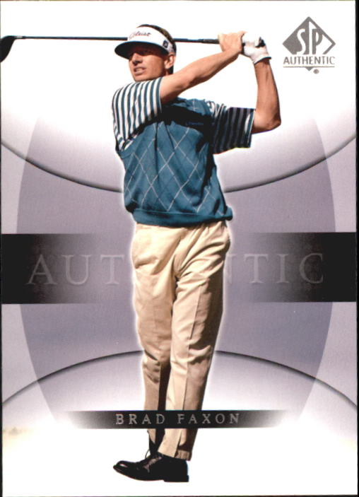 2004 SP Authentic #8 Brad Faxon