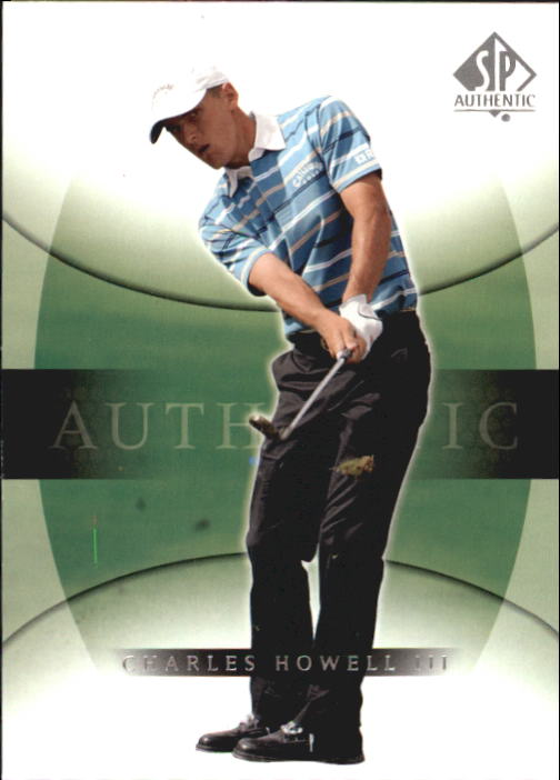 2004 SP Authentic #11 Charles Howell III