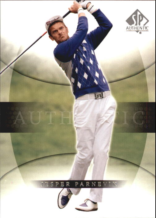 2004 SP Authentic #20 Jesper Parnevik
