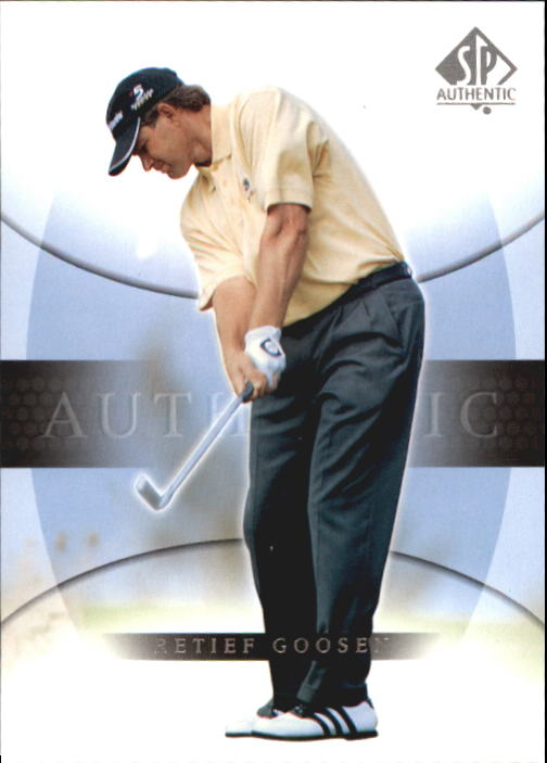 2004 SP Authentic #21 Retief Goosen