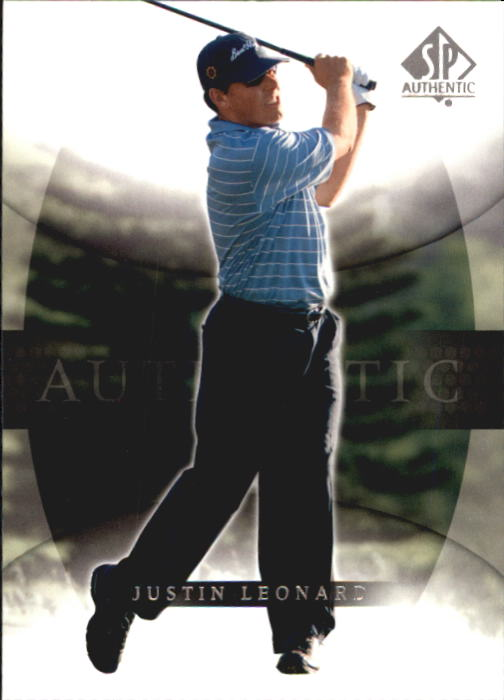 2004 SP Authentic #23 Justin Leonard