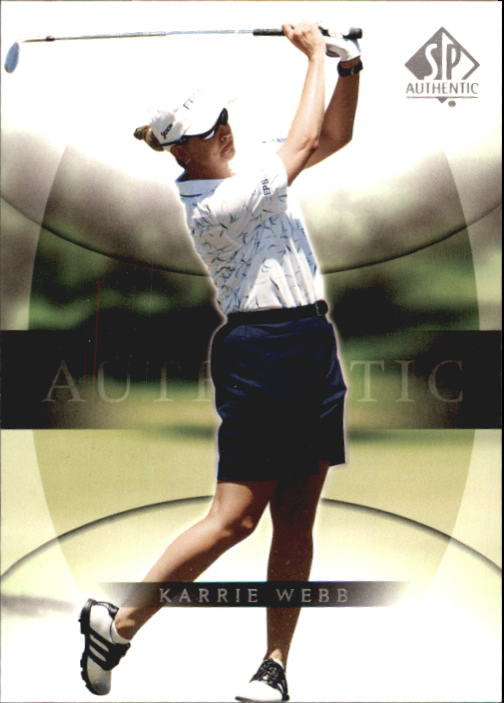 2004 SP Authentic #24 Karrie Webb