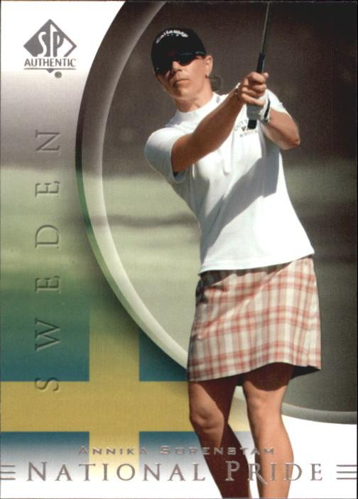 2004 SP Authentic #53 Annika Sorenstam NP
