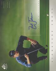 2004 SP Signature Shots 8 x 10 #ZJ Zach Johnson