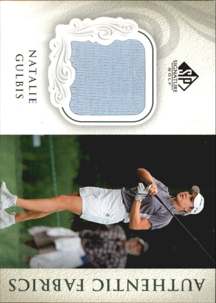 2004 SP Signature Authentic Fabrics Singles #NG Natalie Gulbis