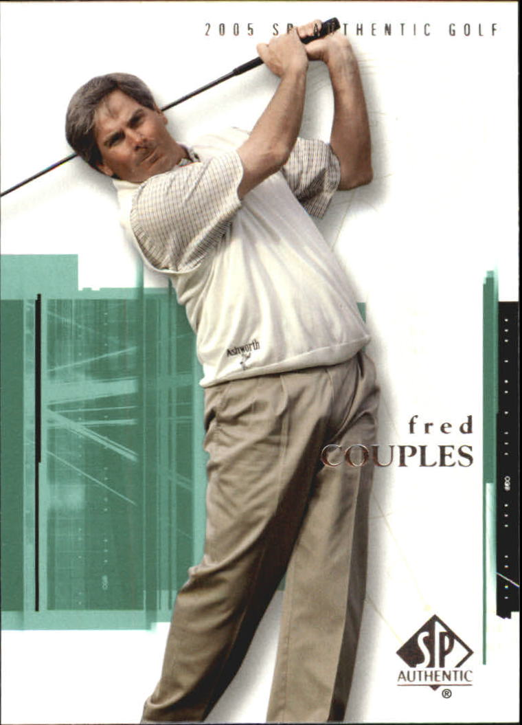2005 SP Authentic #6 Fred Couples