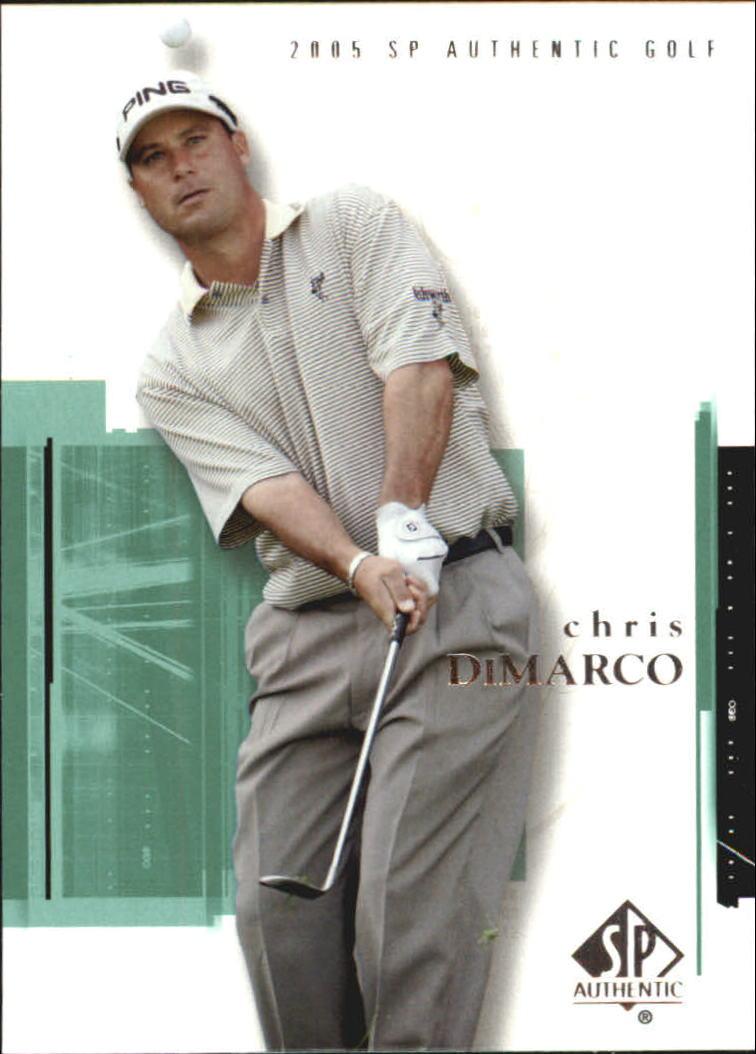 2005 SP Authentic #7 Chris DiMarco