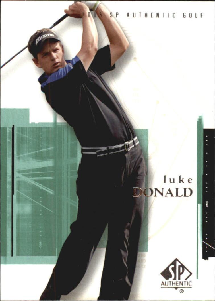 2005 SP Authentic #9 Luke Donald