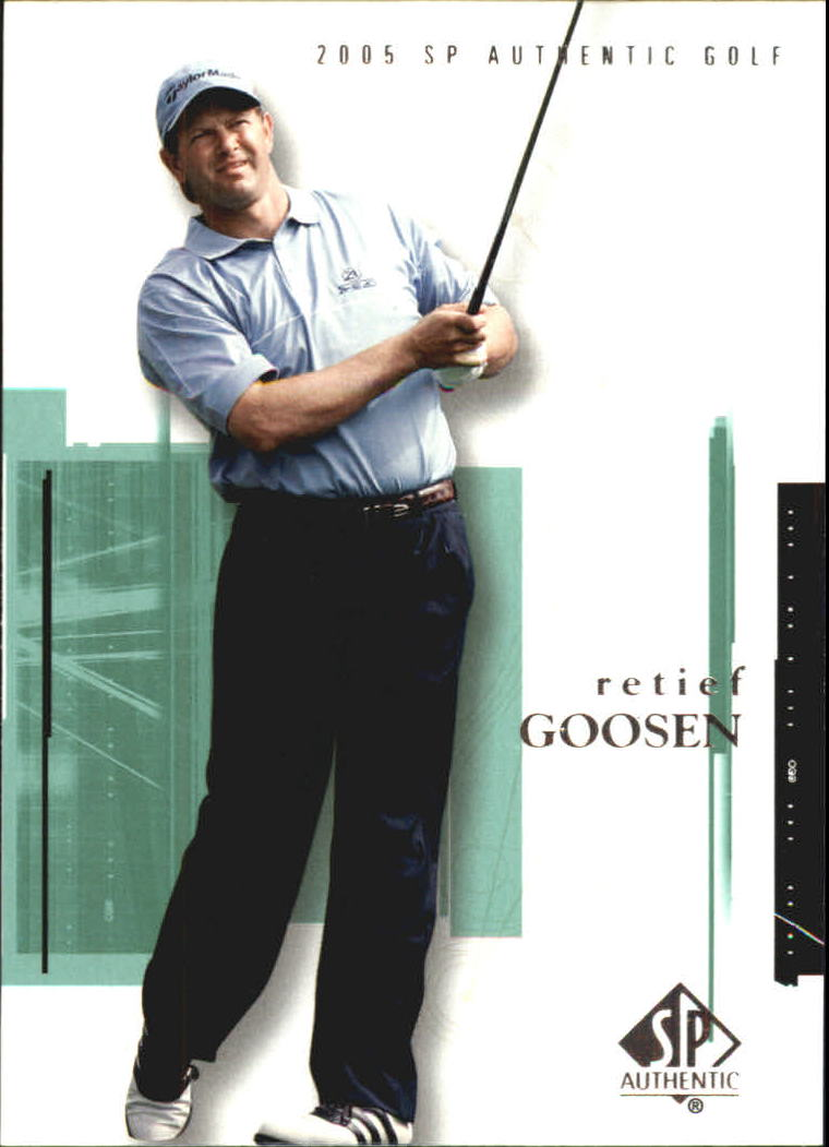 2005 SP Authentic #11 Retief Goosen