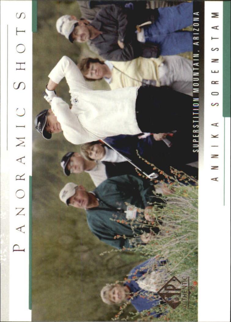 2005 SP Authentic #42 Annika Sorenstam PS