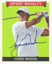 2007 Upper Deck Goudey Sport Royalty Autographs #TW Tiger Woods