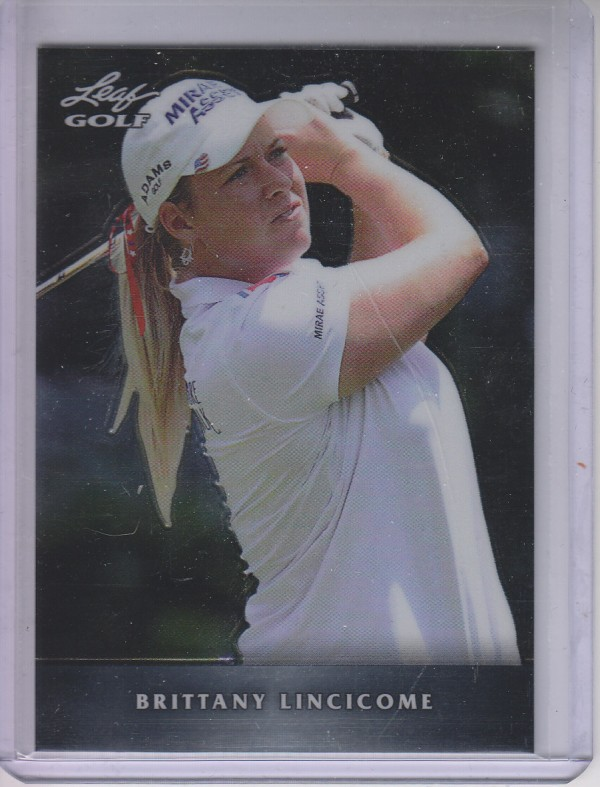 2011 Leaf Golf Metal #MBL1 Brittany Lincicome