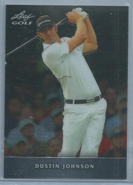 2011 Leaf Golf Metal #MDJ1 Dustin Johnson