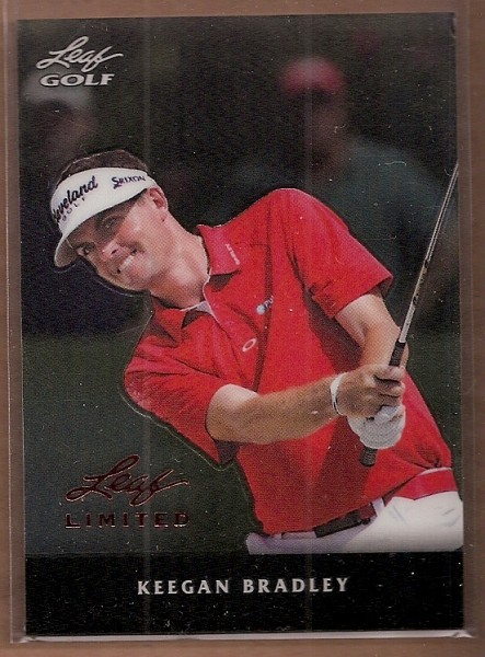 2011 Leaf Golf Metal #MKB1 Keegan Bradley