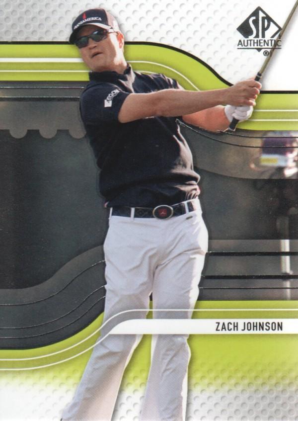 2012 SP Authentic #17 Zach Johnson