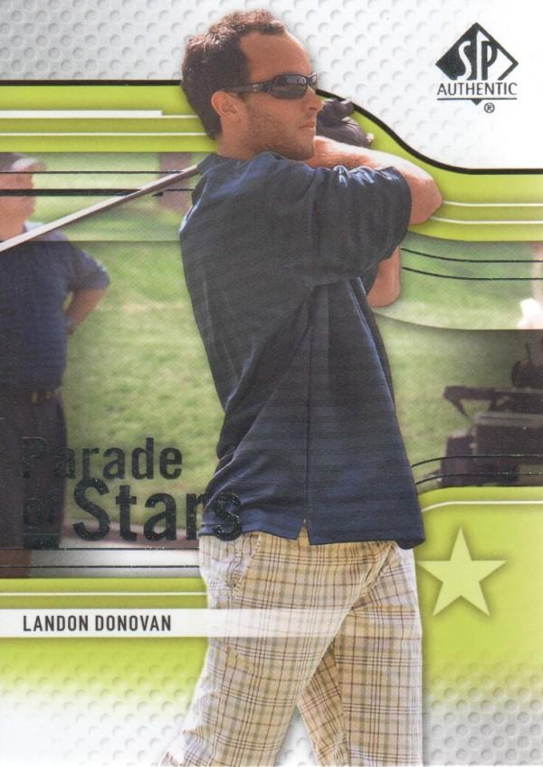 2012 SP Authentic #72 Landon Donovan PS