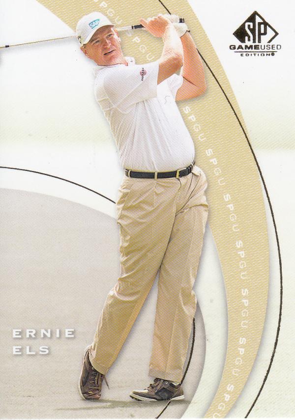 2012 SP Game Used #5 Ernie Els