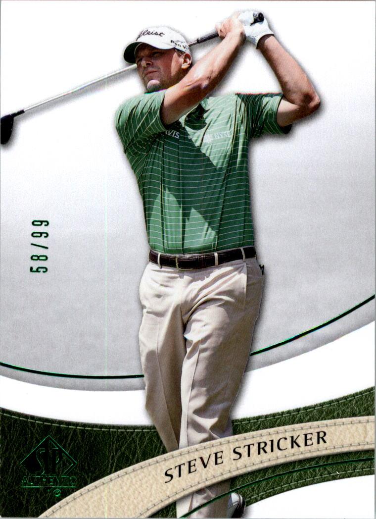 2014 SP Authentic Green #5 Steve Stricker