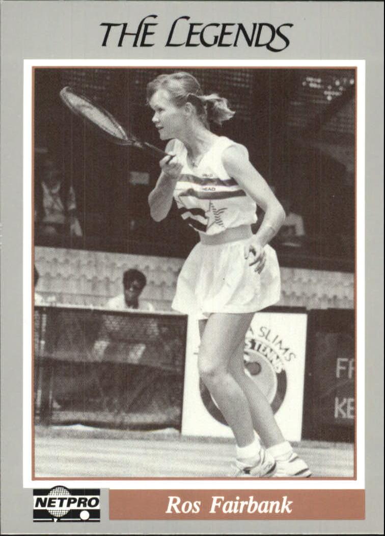 1991 NetPro Legends #4 Rosalyn Fairbank RC