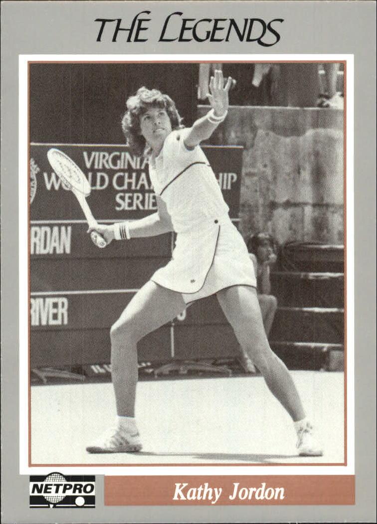 1991 NetPro Legends #7 Kathy Jordan RC