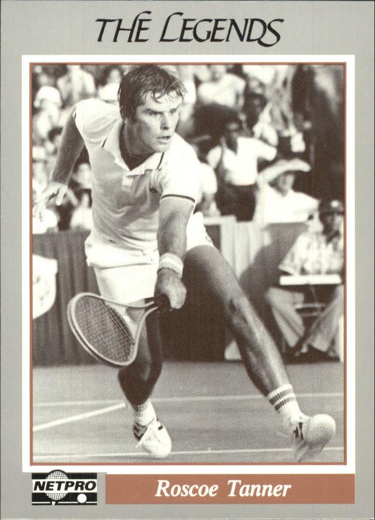 1991 NetPro Legends #9 Roscoe Tanner RC