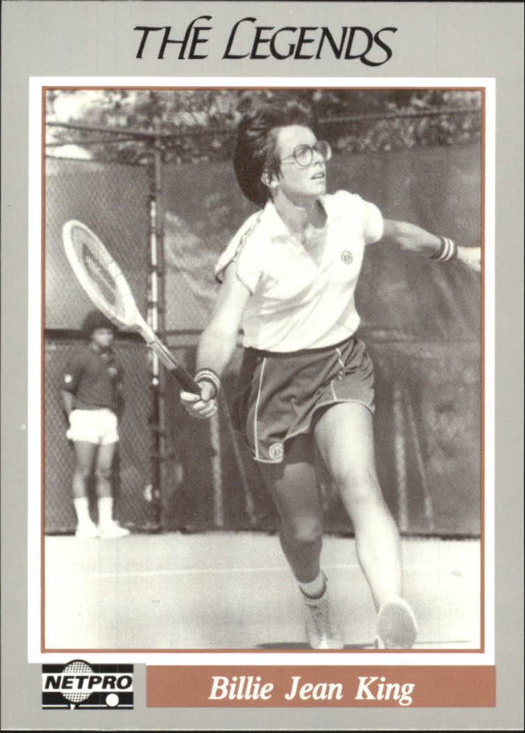 1991 NetPro Legends #14 Billie Jean King RC