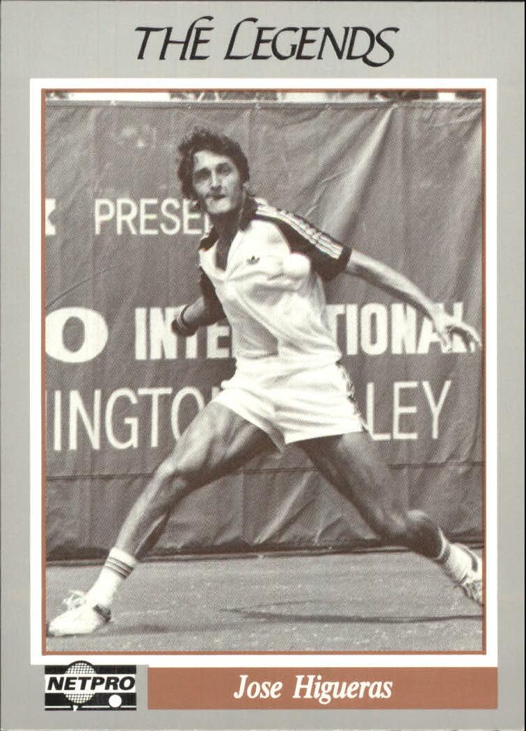 1991 NetPro Legends #19 Jose Higueras RC