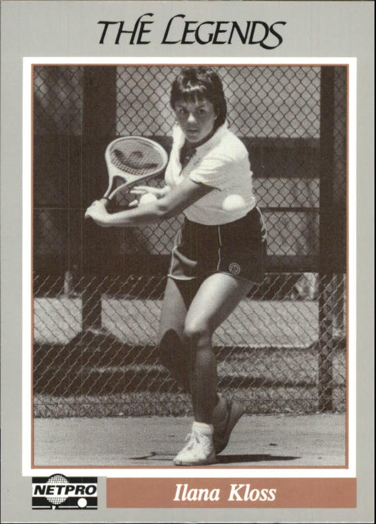 1991 NetPro Legends #24 Ilana Kloss RC