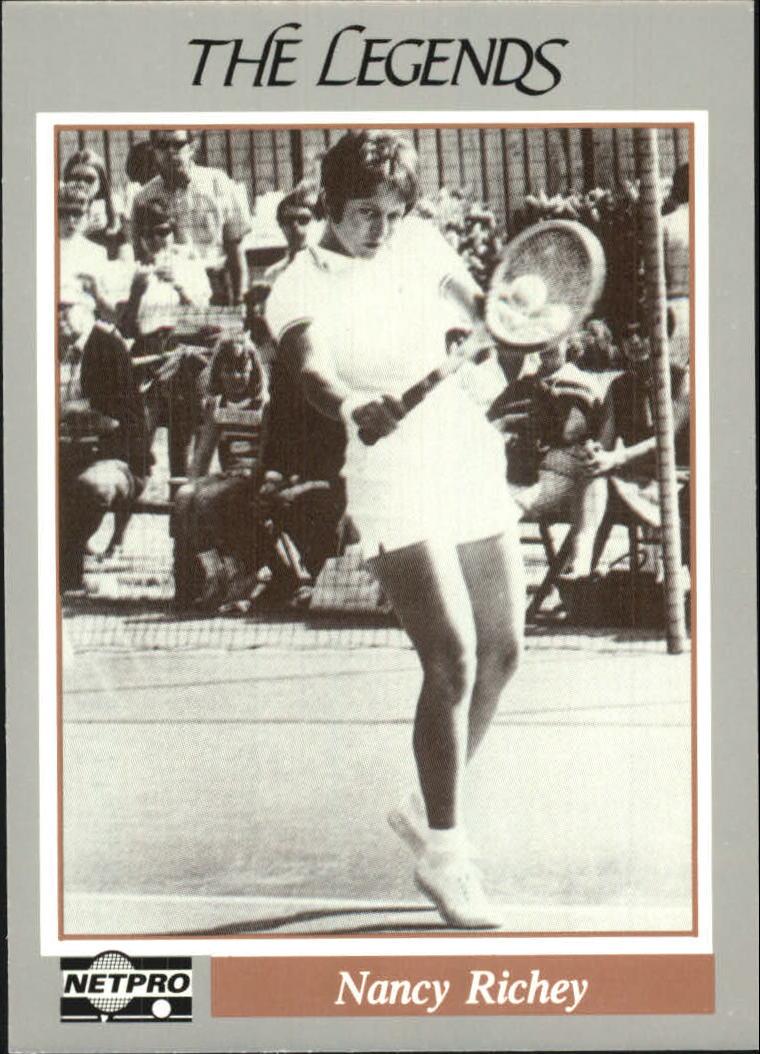 1991 NetPro Legends #37 Nancy Richey RC