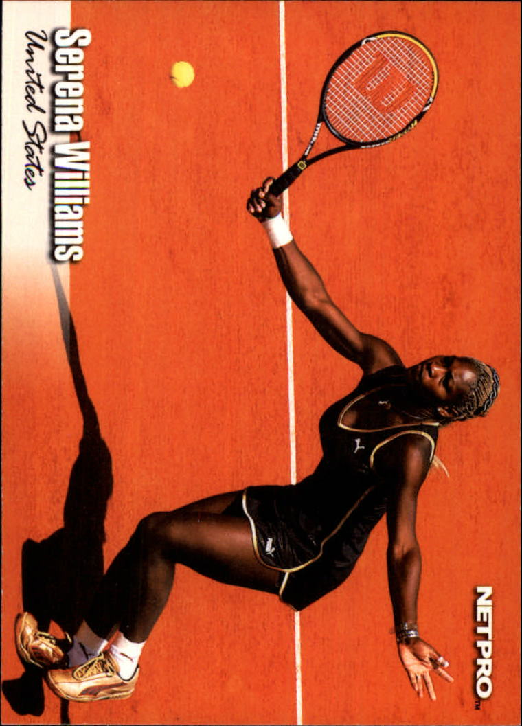 2003 NetPro #1 Serena Williams RC