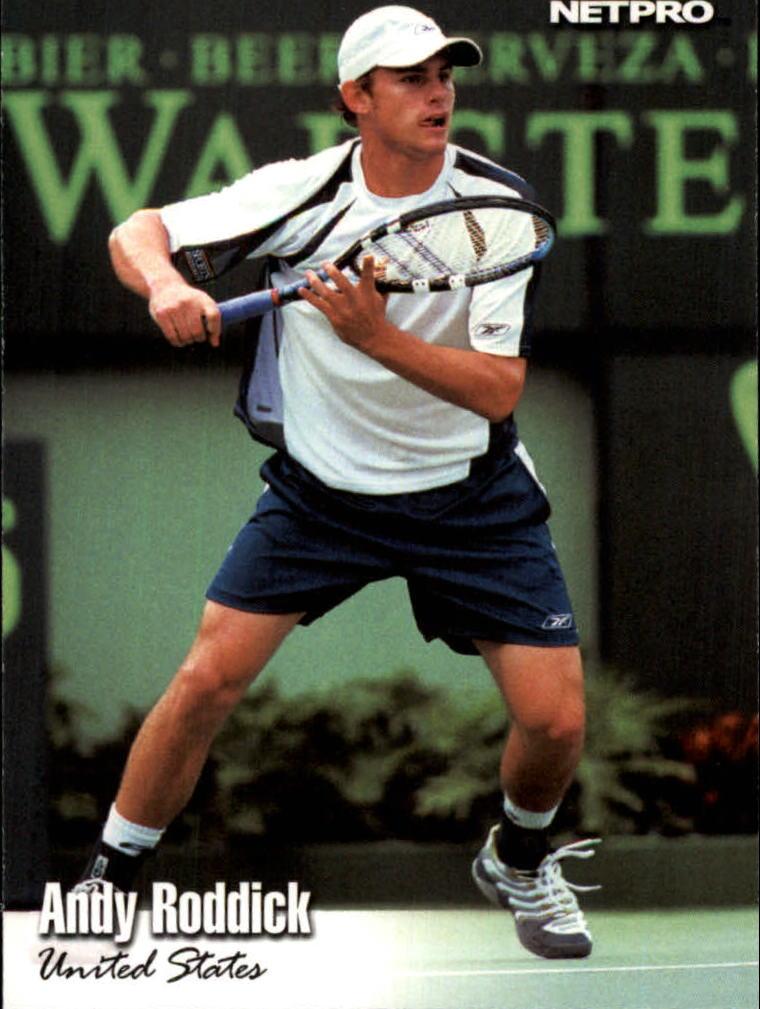 2003 NetPro #4 Andy Roddick RC