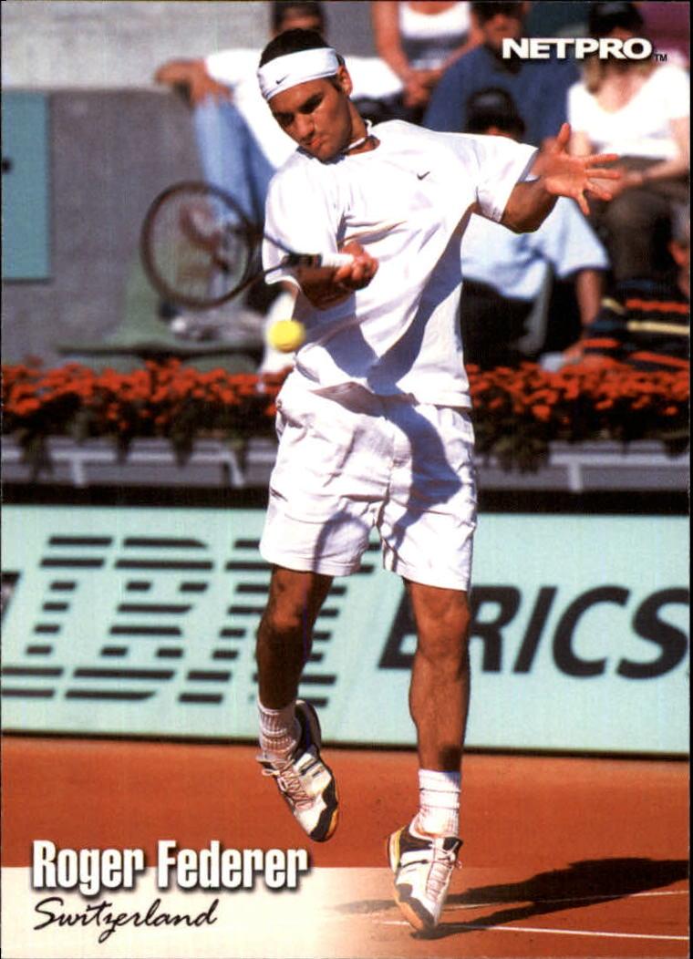 2003 NetPro #11 Roger Federer RC