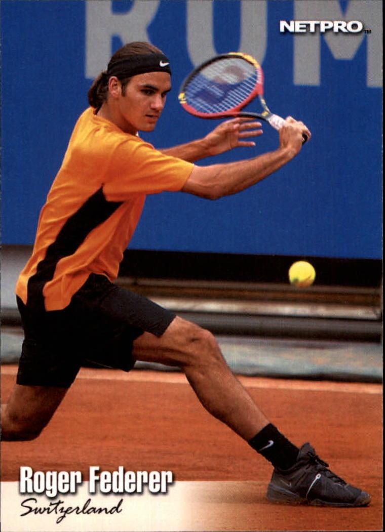 2003 NetPro #90 Roger Federer RC