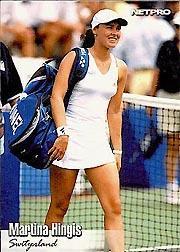 2003 NetPro Glossy #12 Martina Hingis