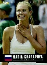 2005 Ace Authentic Debut Edition #1 Maria Sharapova RC