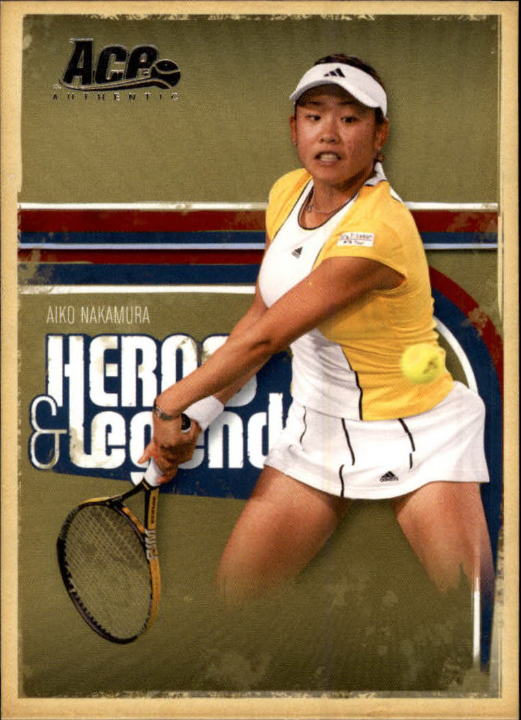 2006 Ace Authentic Heroes & Legends #66 Aiko Nakamura RC