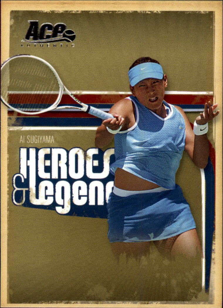 2006 Ace Authentic Heroes & Legends #94 Ai Sugiyama