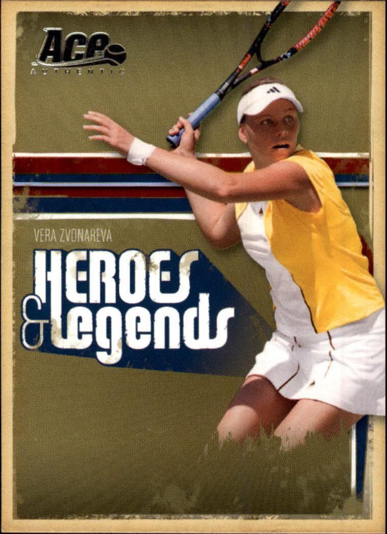 2006 Ace Authentic Heroes & Legends #99 Vera Zvonareva
