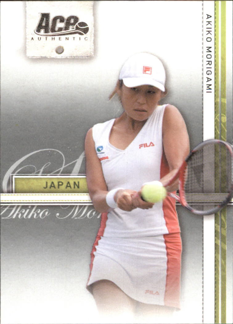 2007 Ace Authentic Straight Sets #2 Akiko Morigami