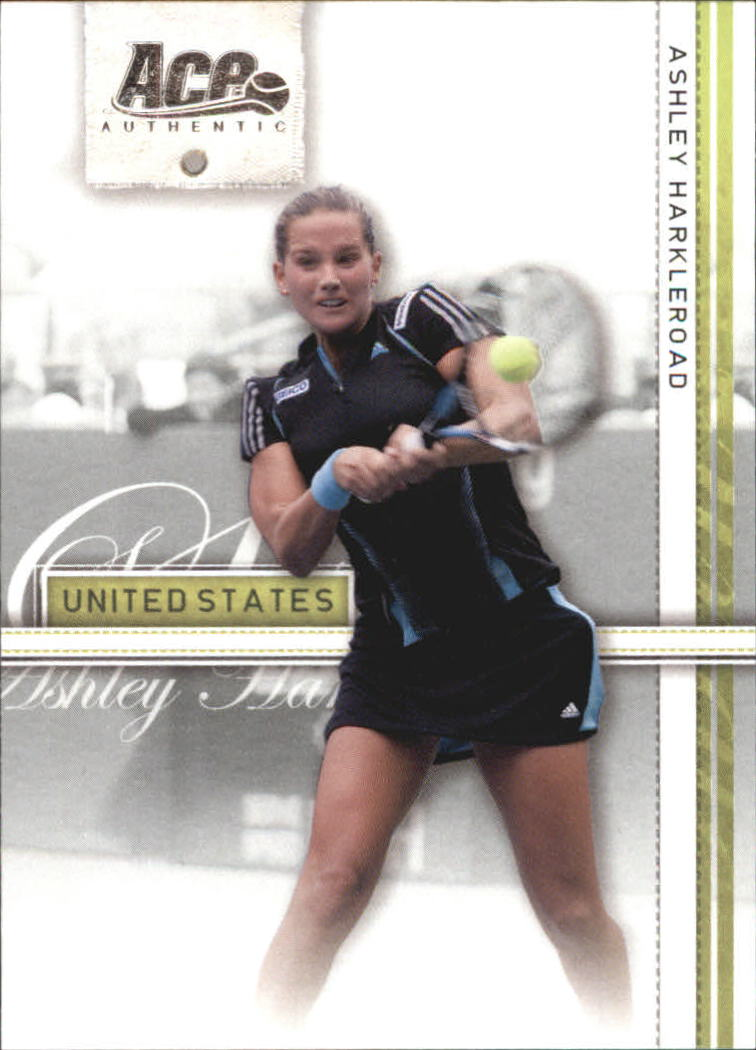 2007 Ace Authentic Straight Sets #6 Ashley Harkleroad