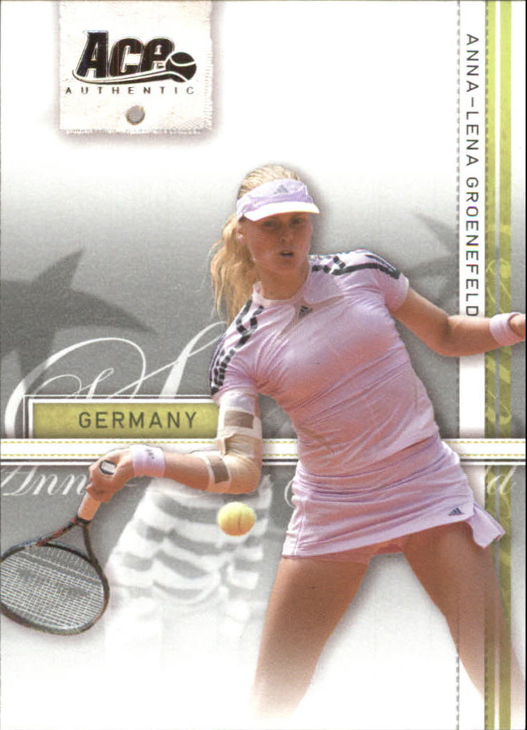 2007 Ace Authentic Straight Sets #8 Anna-Lena Groenefeld