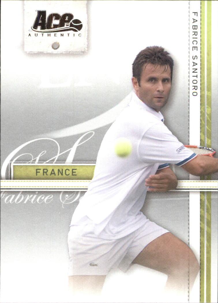 2007 Ace Authentic Straight Sets #14 Fabrice Santoro