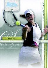 2007 Ace Authentic Straight Sets Holofoil #38 Vera Zvonareva