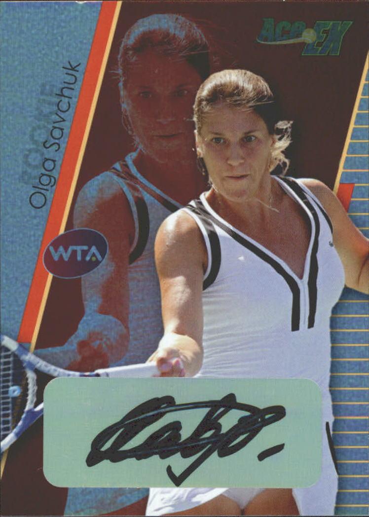 2011 Ace Authentic EX #55 Olga Savchuk
