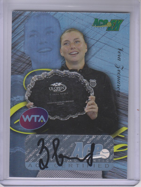2011 Ace Authentic EX Elite #E13 Vera Zvonareva