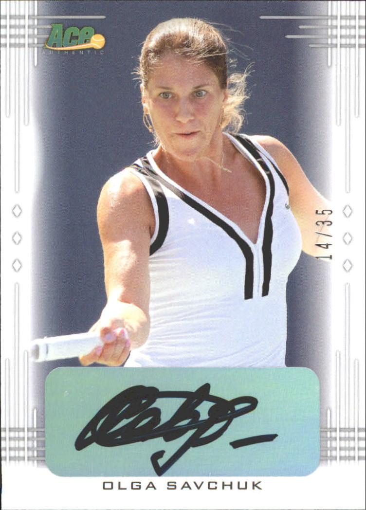 2013 Ace Authentic #BAOS1 Olga Savchuk